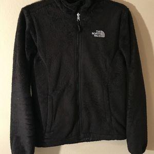 The Northface Black Sz S/P Black Cozy Fuzzy Jacket